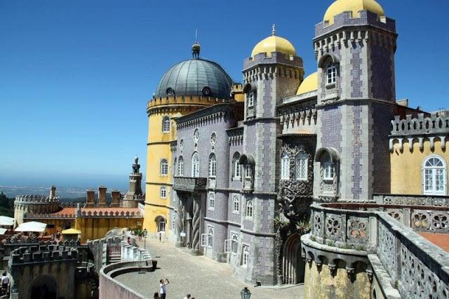 Passeio pelos palácios de Sintra