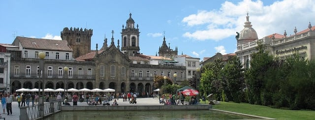 Pontos Turísticos em Braga
