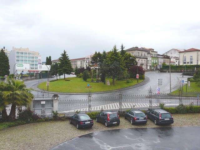 Região das Fontainhas em Braga
