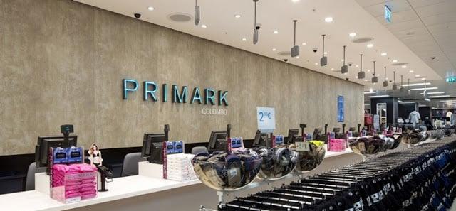 Localização das lojas Primark no Porto