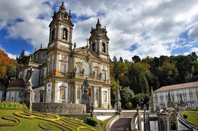 Santuário Bom Jesus do Monte em Braga
