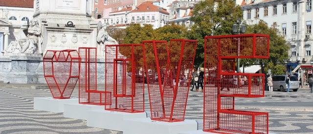 Dia dos namorados em Lisboa