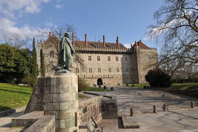 Paço dos Duques de Bragança em Guimarães