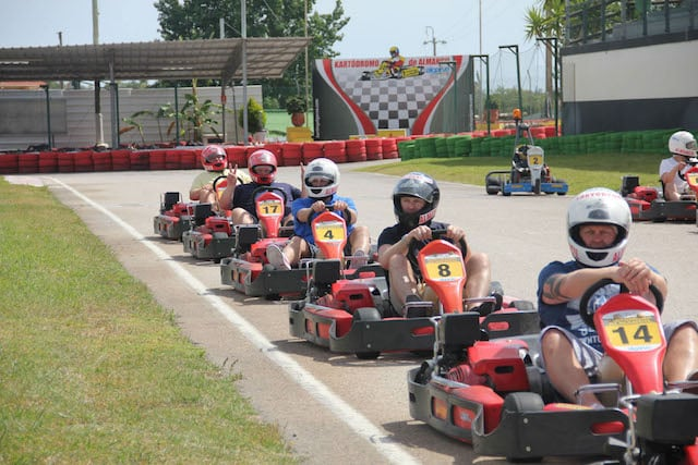 Karting de Almancil no Algarve