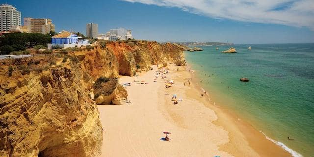 Cidade de Portimão no Algarve