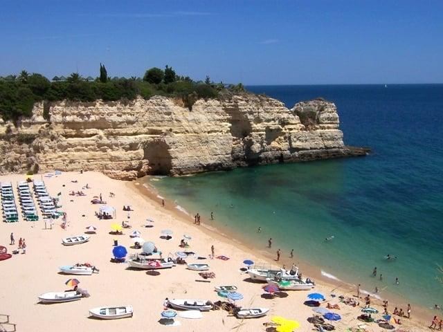Cidade de Silves no Algarve