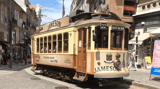 Linha 22 do Elétrico no Porto