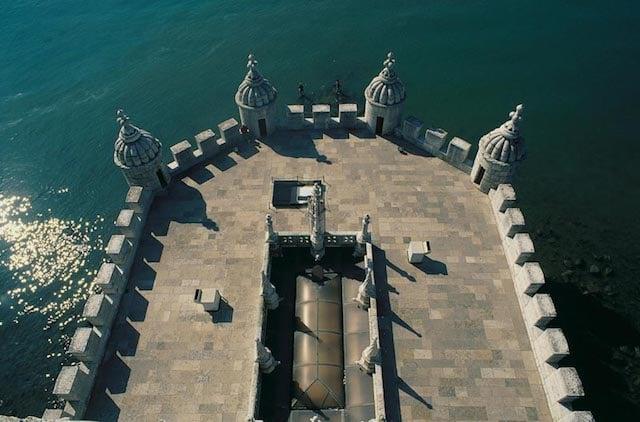 Vista do alto da Torre de Belém