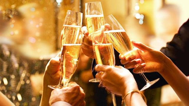 Brinde ao Ano Novo