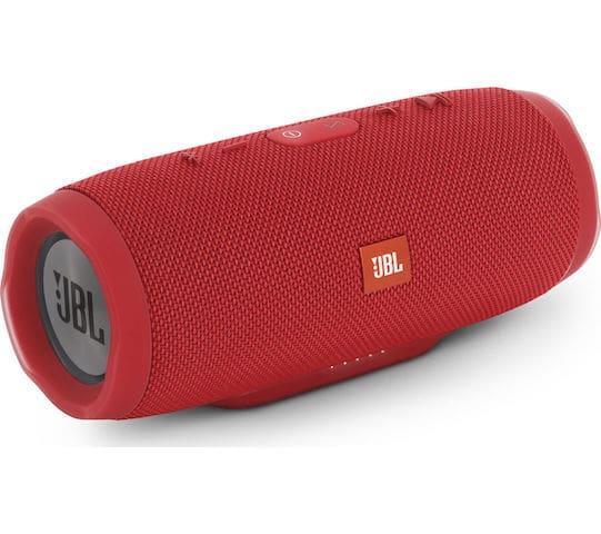 Caixa de Som JBL em vermelho