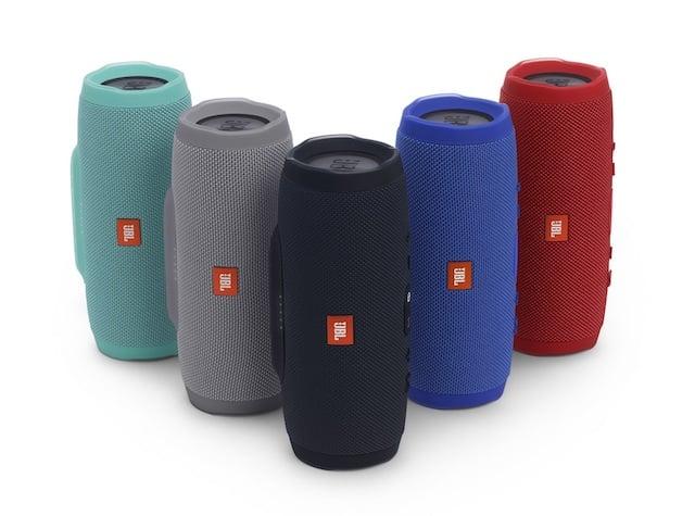 Modelos e cores da caixa de som JBL