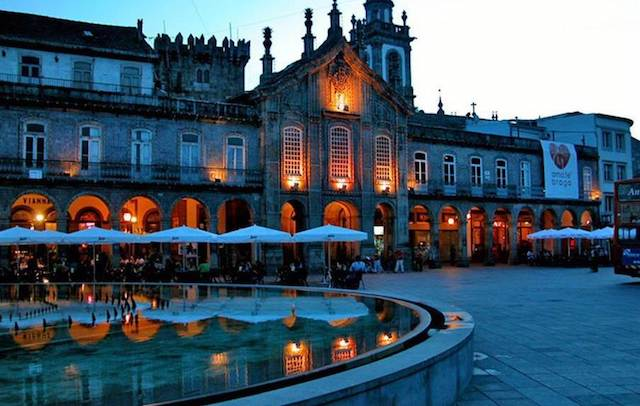 Braga à noite