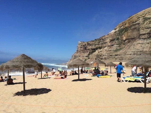 Praia da Calada na Ericeira