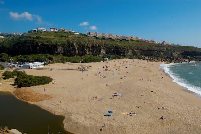 Praia de São Lourenço na Ericeira