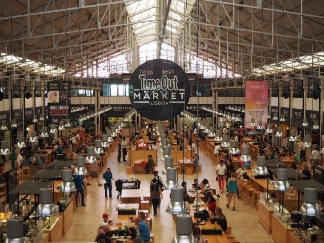 Mercado da Ribeira em Lisboa  4113935d1acf5
