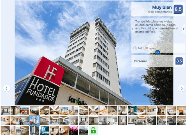 Hotel Fundador em Guimarães