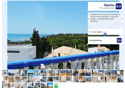 Hotel Santa Eulalia Praia em Albufeira