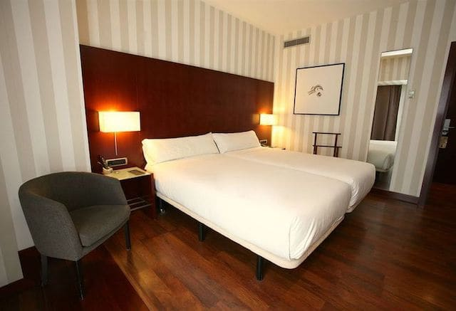 Hotel Zenit Lisboa - quarto