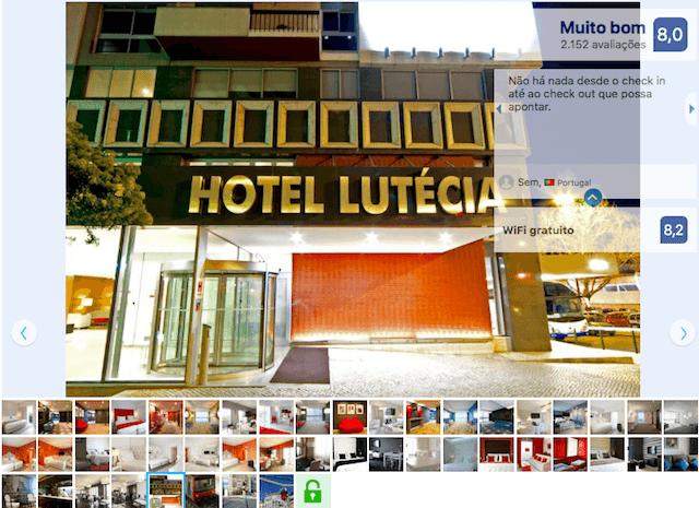 Lutecia Smart Design Hotel em Lisboa