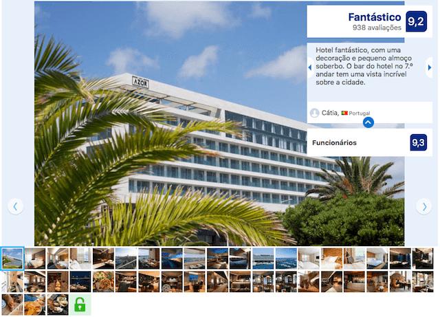 Azor Hotel nos Açores
