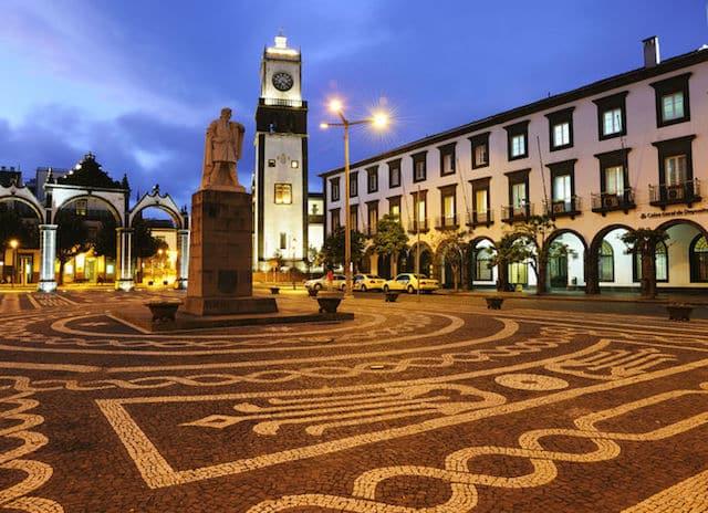 Ponta Delgada nos Açores