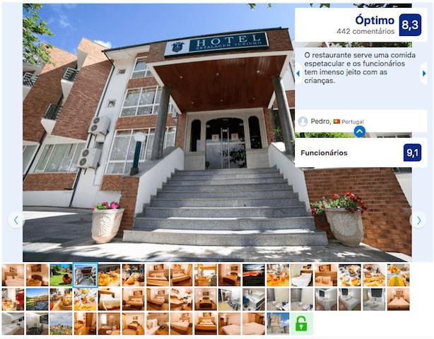 Hotel Estalagem Turismo em Bragança