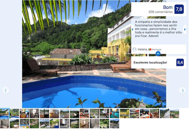 Hotel Vista do Vale nos Açores