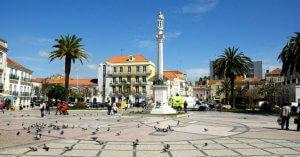 Praça em Setúbal