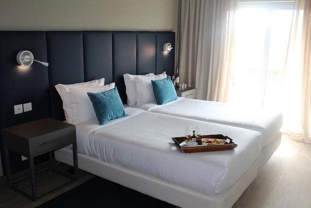 Hotel Meliá em Setúbal - quarto
