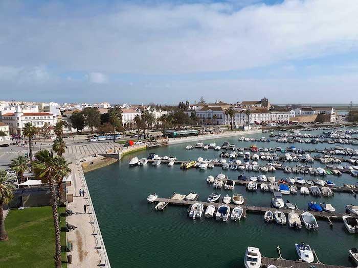 Vista de Faro