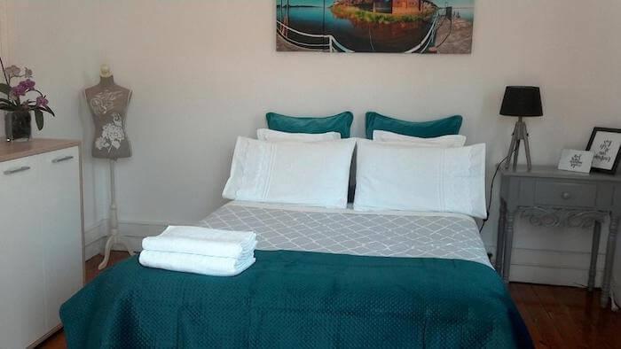 Casa Azul Hostel em Sintra - quarto