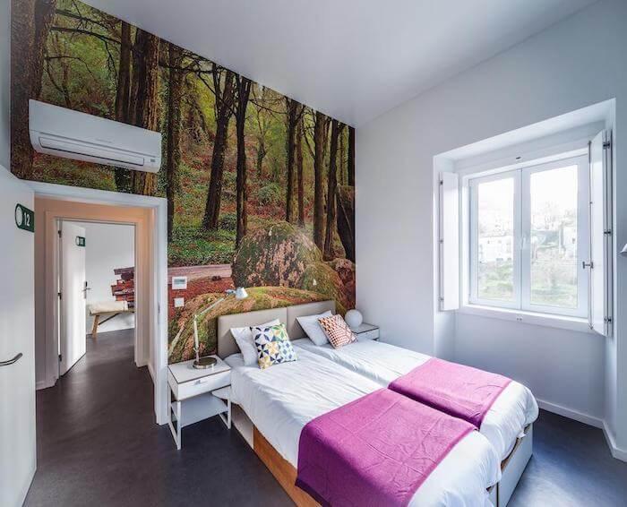 Moon Hill Hostel em Sintra - quarto