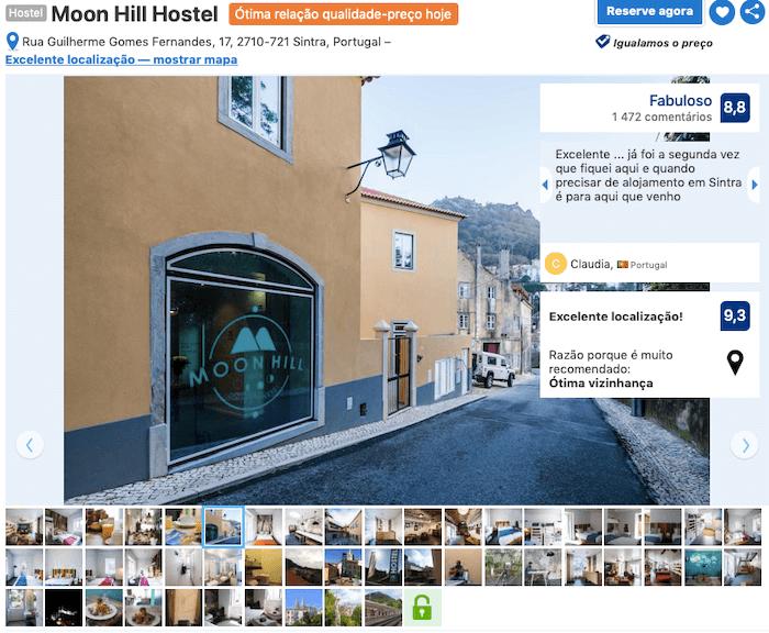 Moon Hill Hostel em Sintra