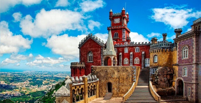 Passeios românticos em Sintra
