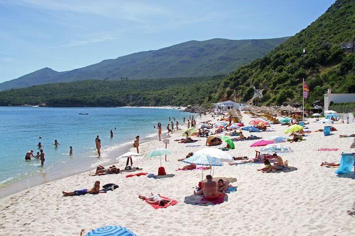 Praias de Setúbal - Praia Galapinhos