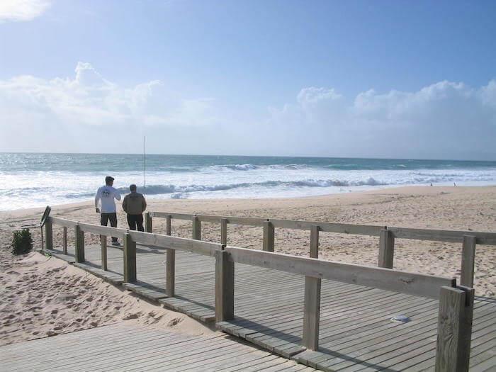 Acesso de madeira à Praia da Comporta
