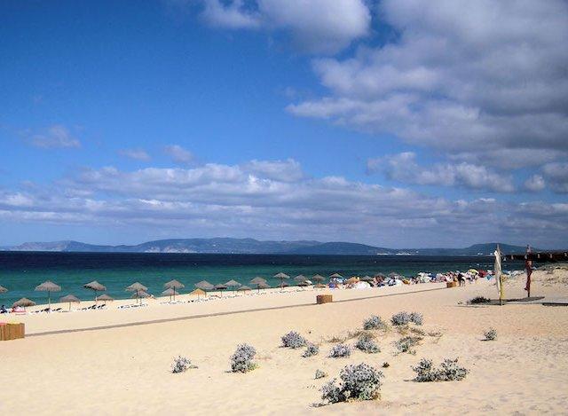 Praia da Comporta em Setúbal