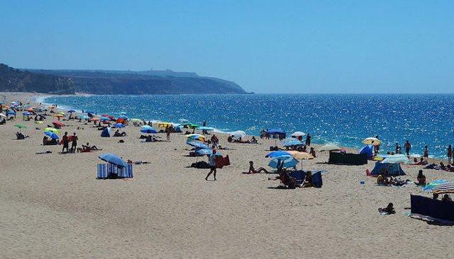 Praia do Meco em Setúbal
