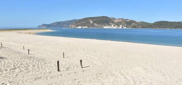 Areal da Praia de Tróia em Setúbal