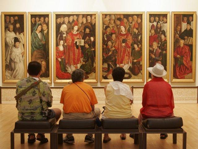 Museu Nacional de Arte Antiga em Lisboa