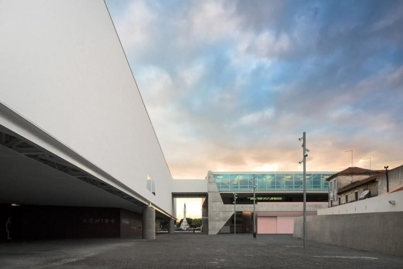 Estrutura do novo edifício do Museu dos Coches