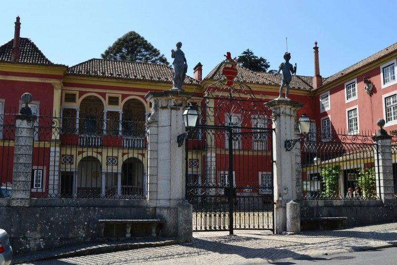 Entrada do Palácio dos Marqueses da Fronteira