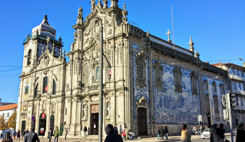 Igreja do Carmo no Porto