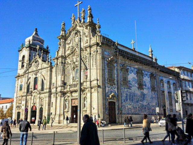Igreja do Carmo em Porto