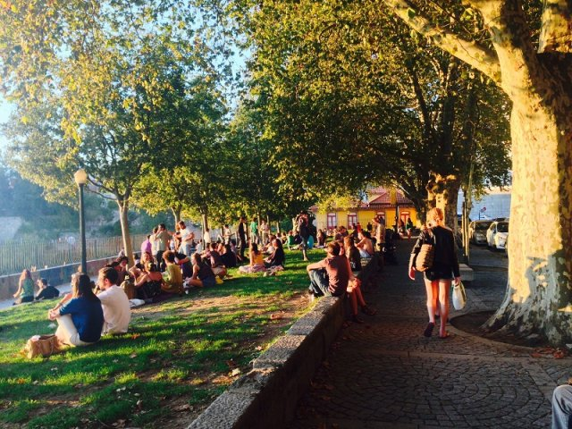 Jardim das Virtudes em Porto
