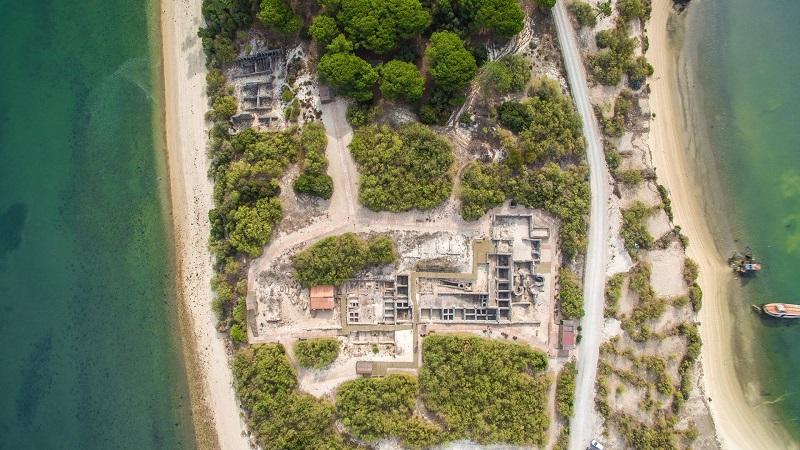 Ruínas Romanas de Tróia em Setúbal