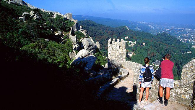 Passeio por ruínas de Sintra