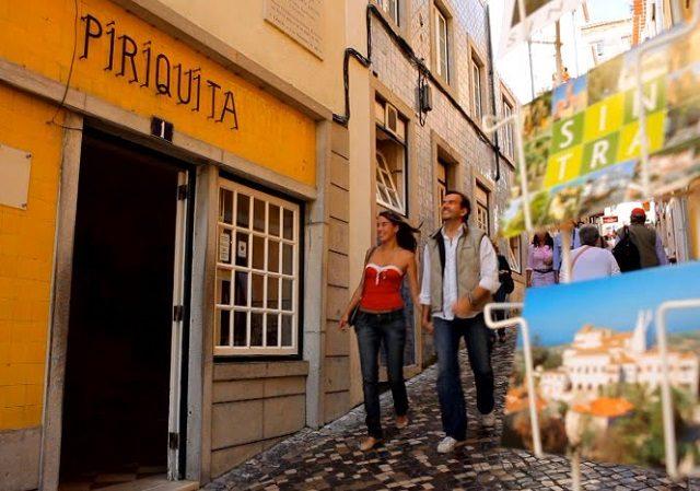 Passeio a pé por Sintra